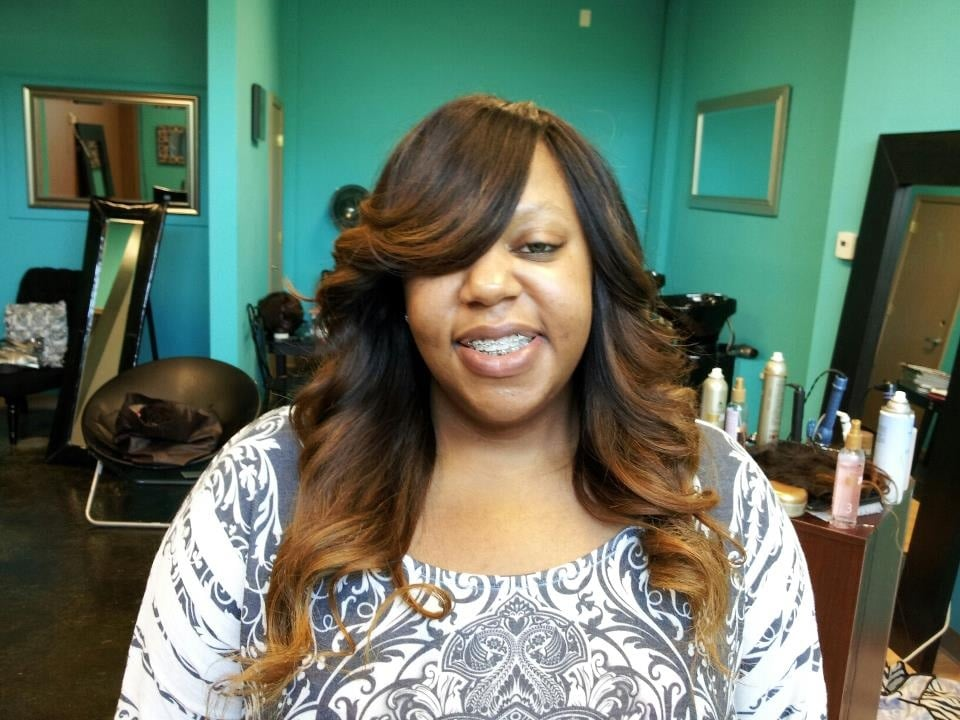 Full Sew In Weave With Ombr Yelp