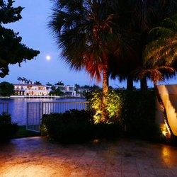 outdoor lighting miami. Photo Of EOS Outdoor Lighting - Miami, FL, United States. Backyard Townhouse Miami P