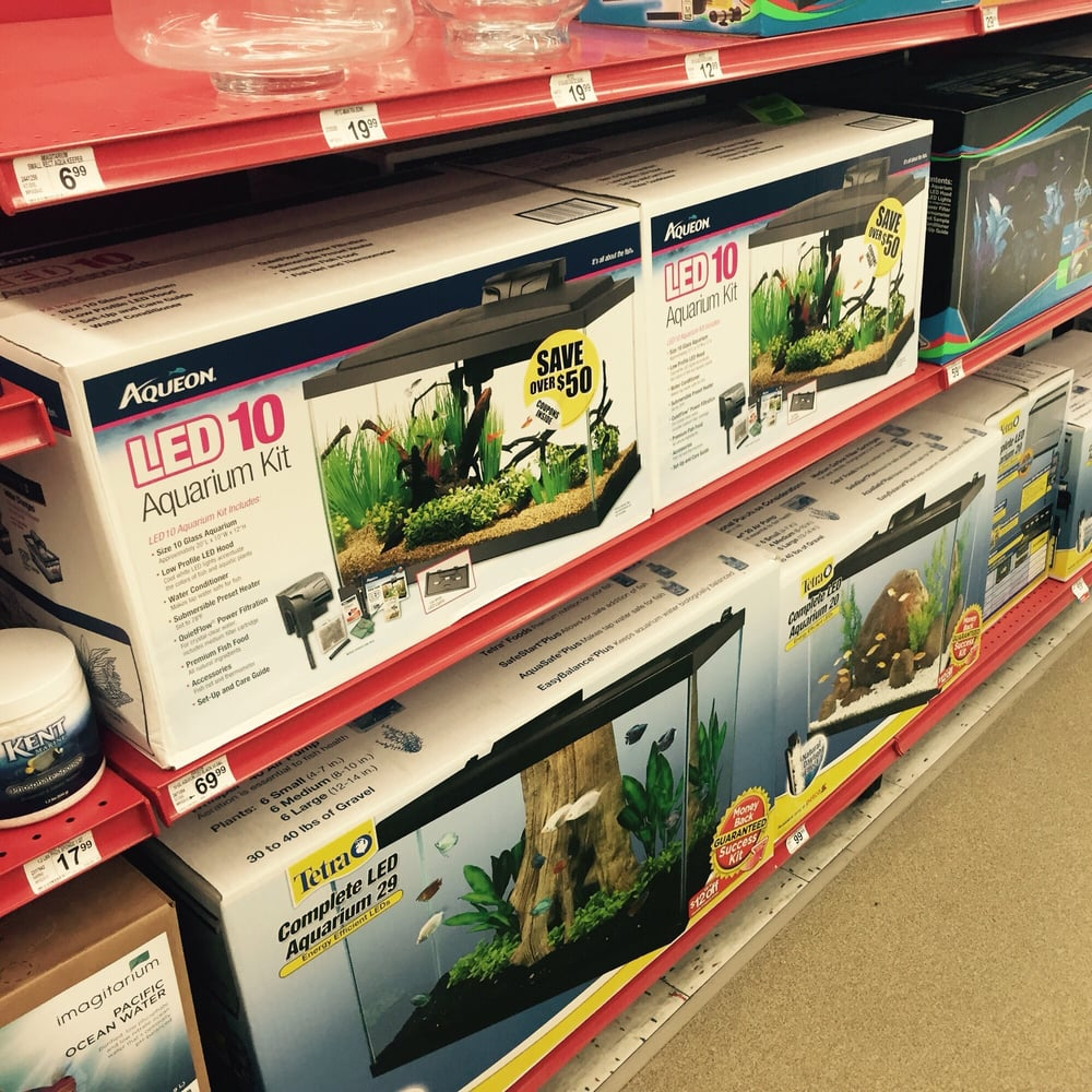 Good selection of fish tanks and supplies yelp for Petco fish supplies