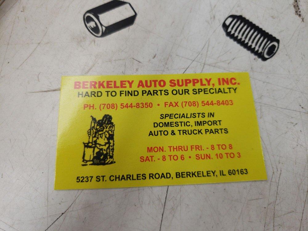 Berkeley Auto Supply: 5237 Saint Charles Rd, Berkeley, IL