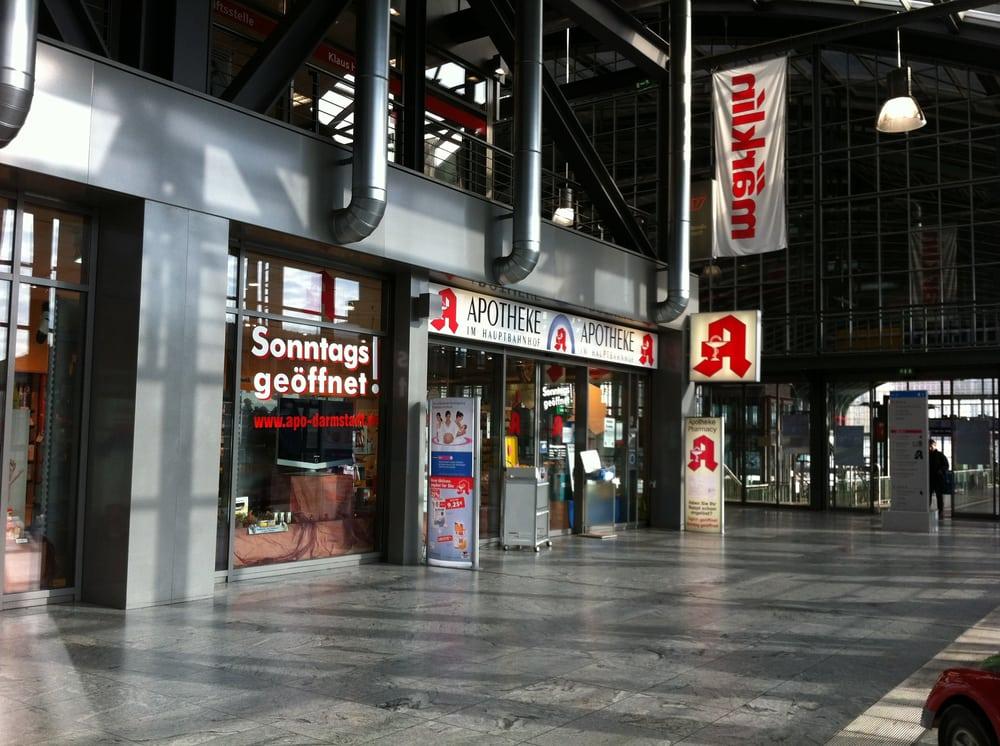 Apotheke Bahnhof Darmstadt