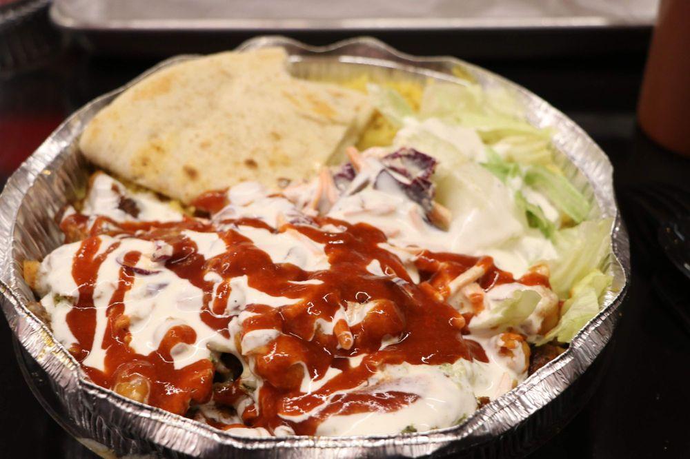 Food from Juicy! Halal Mediterranean