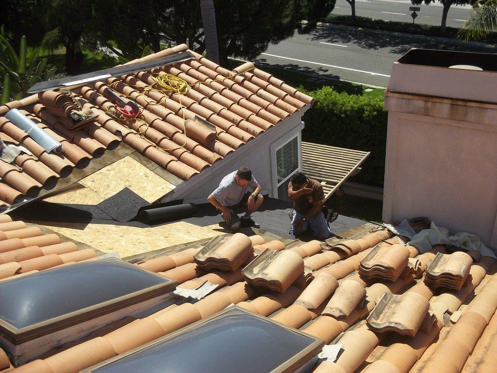 Laguna Niguel Roofing Company For Spanish Tile Roof Leak