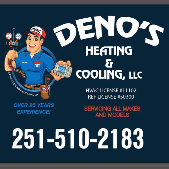 Deno's Heating & Cooling: Wilmer, AL
