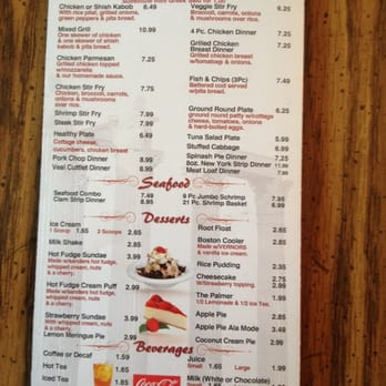 Parthenon Coney Island Madison Heights Menu