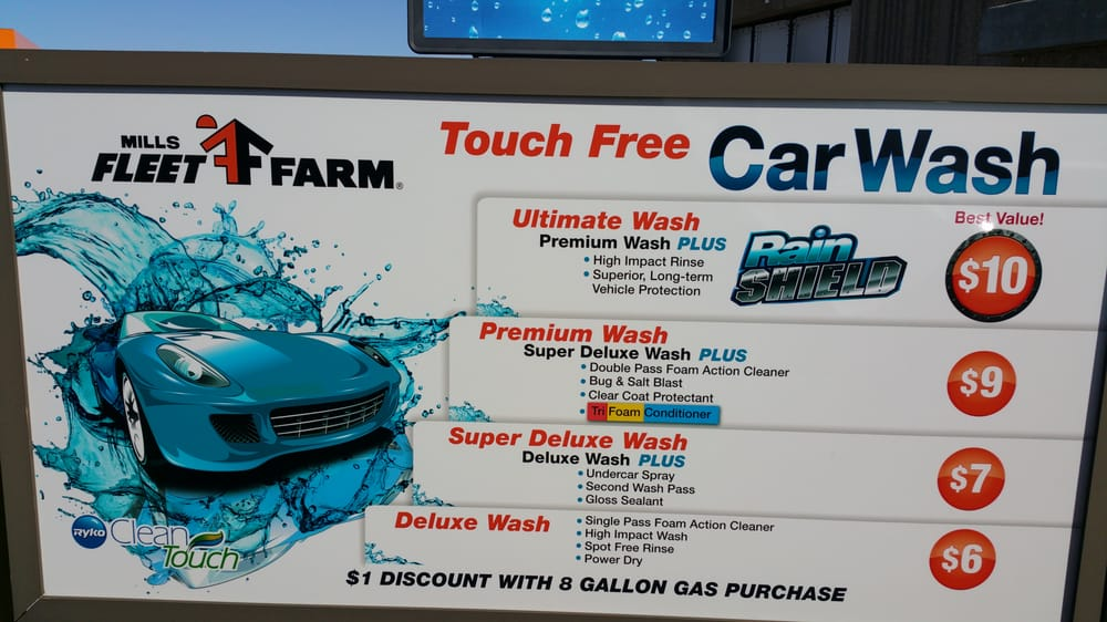 Holiday Station Stores Car Wash Prices