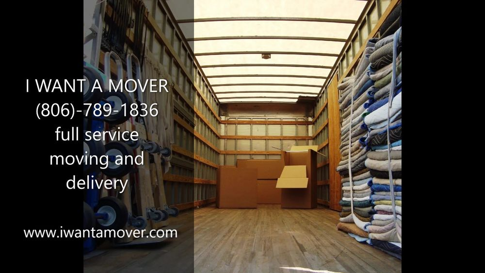 I Want A Mover: Lubbock, TX