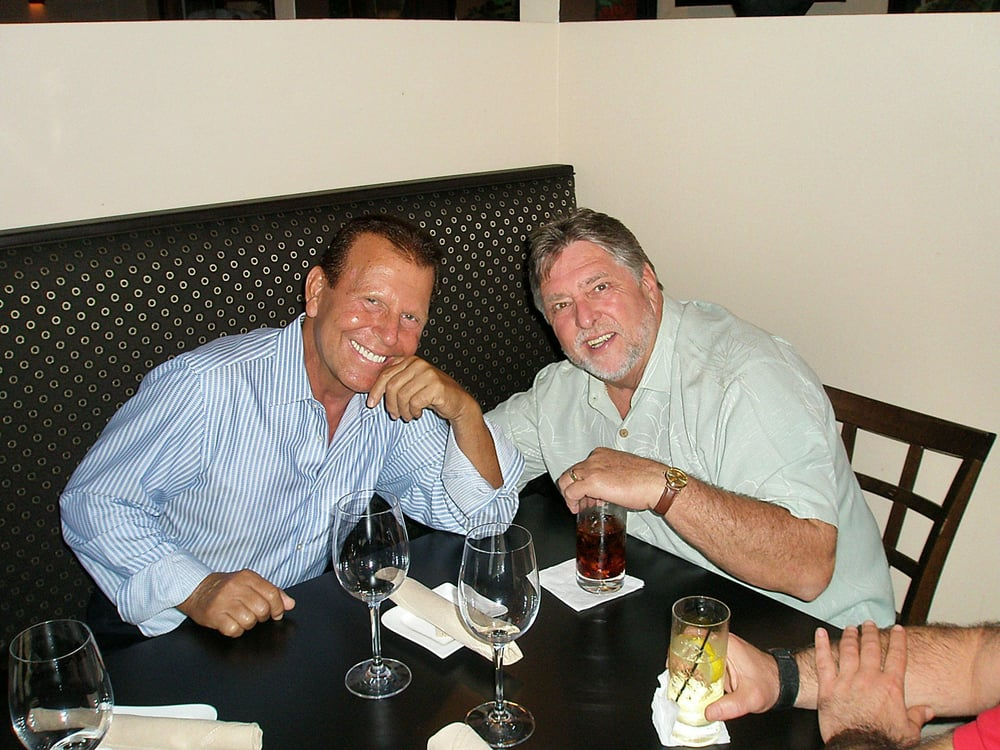 Two Close Friends And Clients Tony Now Deceased And