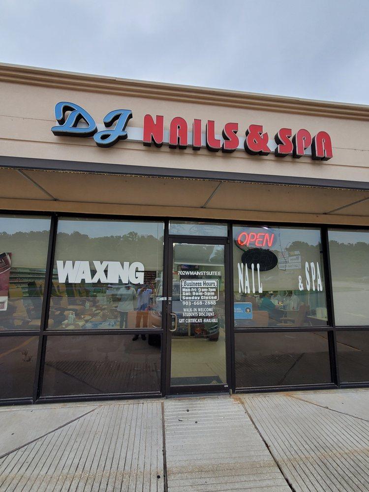 DJ Nails and Spa: 702 W Main St, Hallsville, TX