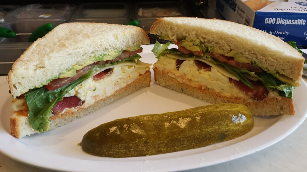 Hell S Kitchen Egg Salad Bacon Swiss Cheese And Avocado