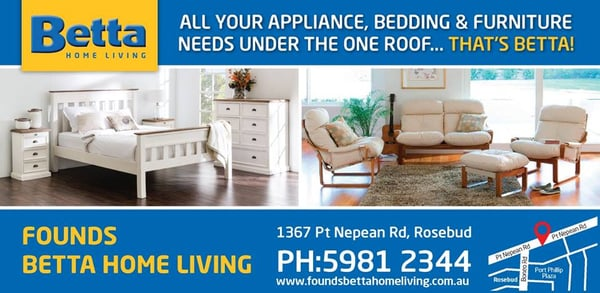 Betta Home Living Furniture Shops 1367 Nepean Hwy Rosebud