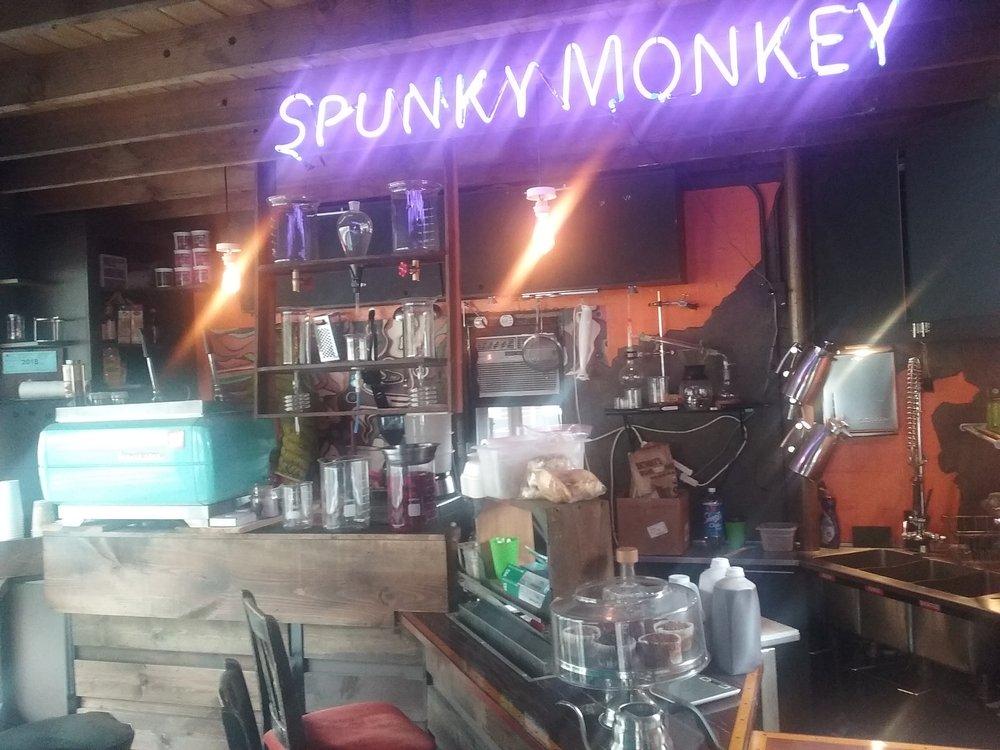 Spunky Monkey Coffee Kitchen: 7900 SW Barbur Blvd, Portland, OR