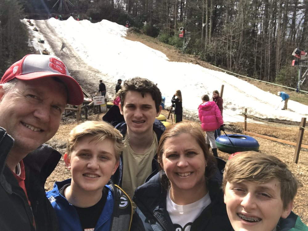Moonshine Mountain Snow Tubing Park: 5865 Willow Rd, Hendersonville, NC