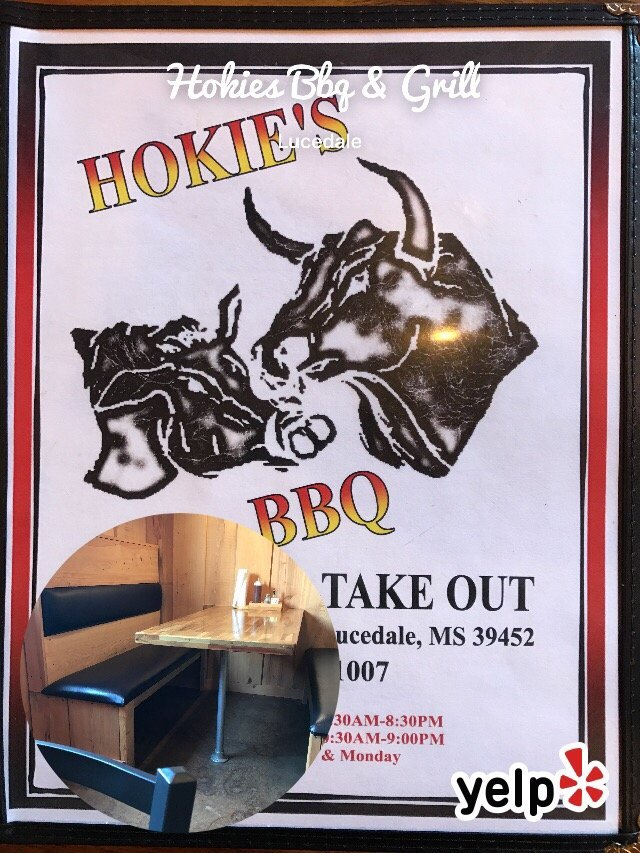 Hokies Bbq & Grill: 17227 Highway 26 W, Lucedale, MS