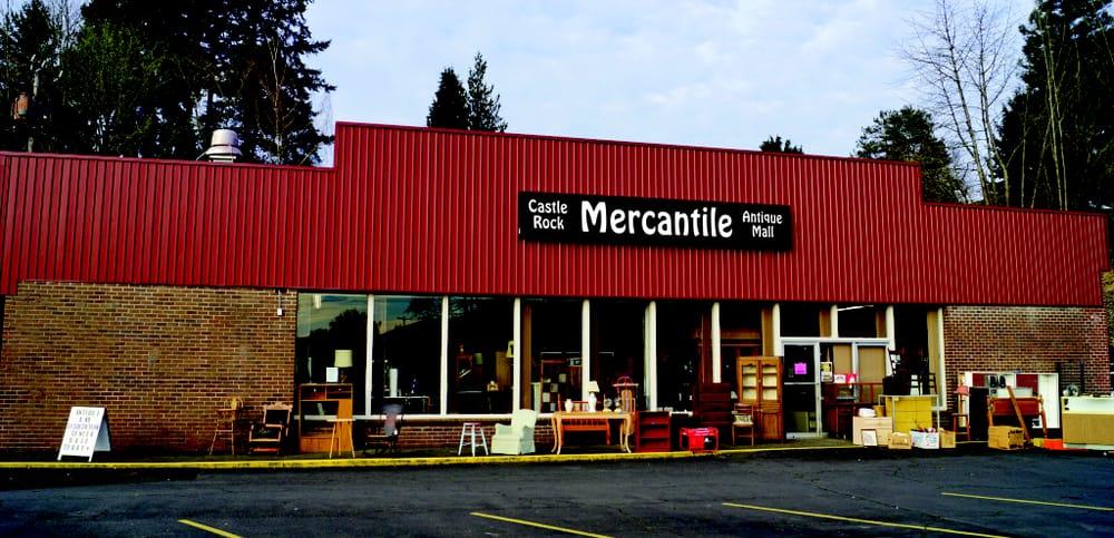 Castle Rock Mercantile Antique Mall: 160 H Huntington Ave N, Castle Rock, WA