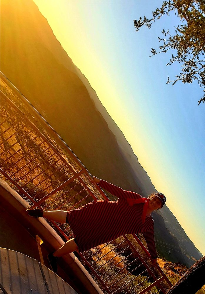 Sunset Point Scenic Overlook: Sunset Point Rest Area, Black Canyon City, AZ