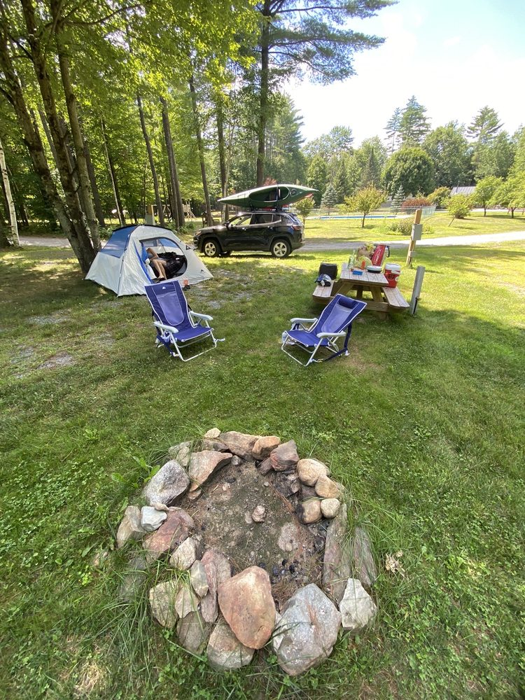 Jacobs Brook Campground: 46 High Bridge Rd, Orford, NH