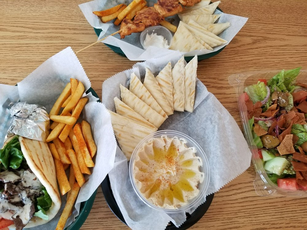 Food from Pita King
