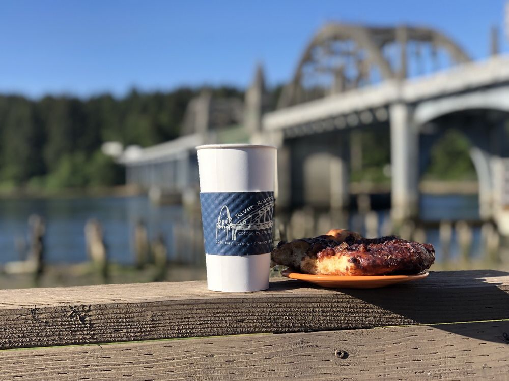 River Roasters: 1240 Bay St, Florence, OR