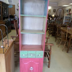 Photo Of East Bay Consignment   Warren, RI, United States. Colorful Cabinet  $145