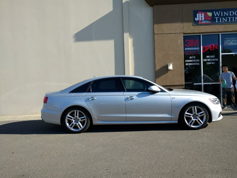2015 audi a6 50 front 20 rear 3m color stable tint yelp