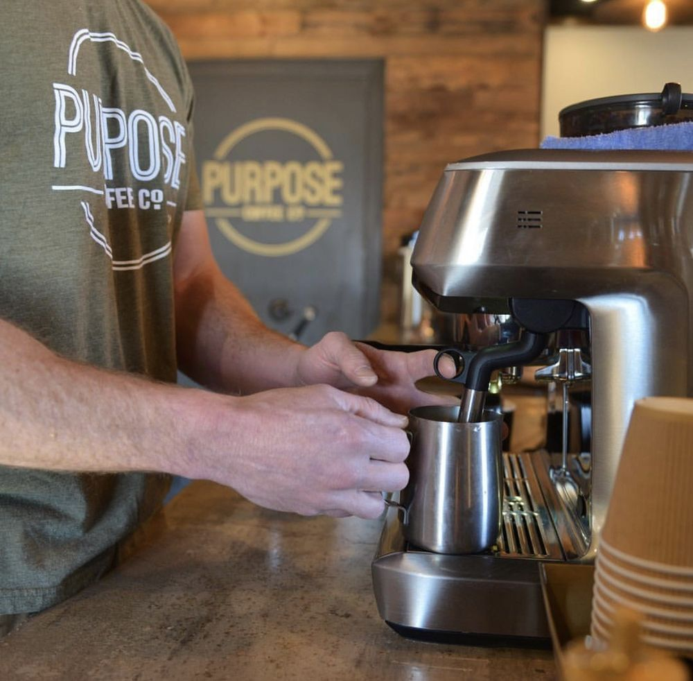 Purpose Coffee: 324 Rock Island Ave, Dalhart, TX