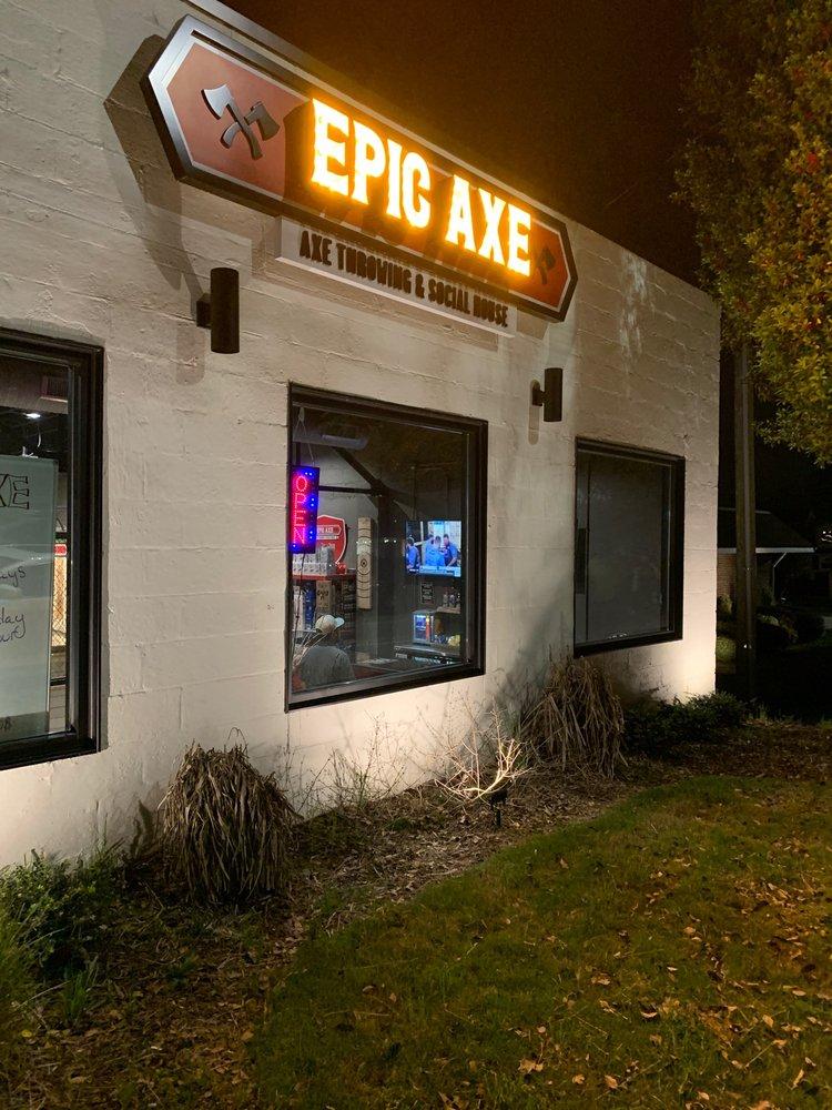 Epic Axe: 213 W Main, Clayton, NC