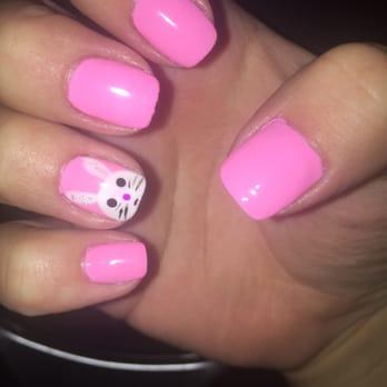 Pink nails 208 photos 208 reviews nail salons 8414 for 24 nail salon las vegas