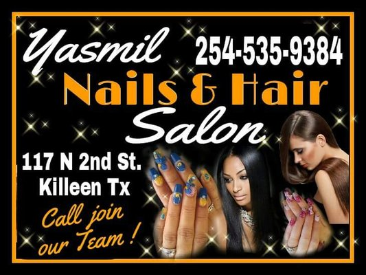 Yasmil Nails Salon - Hair Salons - 117 N 2nd St, Killeen, TX ...