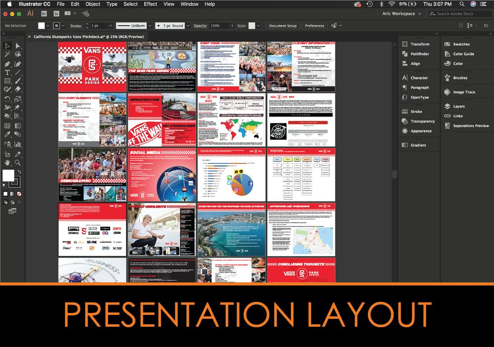 presentation layouts slides pitch decks and power point yelp