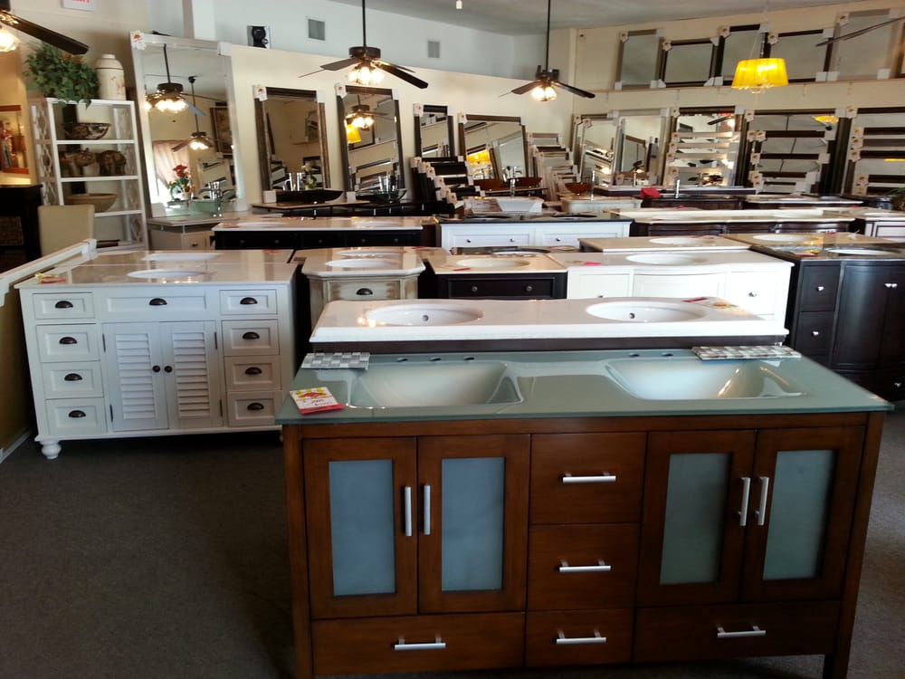 80 Bathroom Vanities In Our Showroom And 200 Mirrors In Our Showroom Yelp