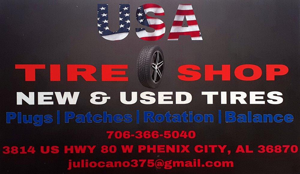 USA Tire Shop: 3814 US Hwy 80 W, Phenix City, AL