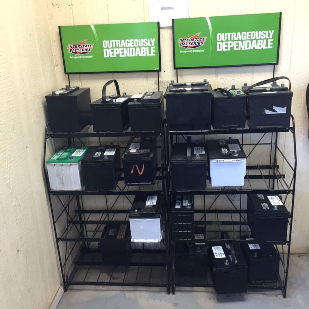 Used Car Warehouse: Now Selling New & Used Interstate Batteries! New