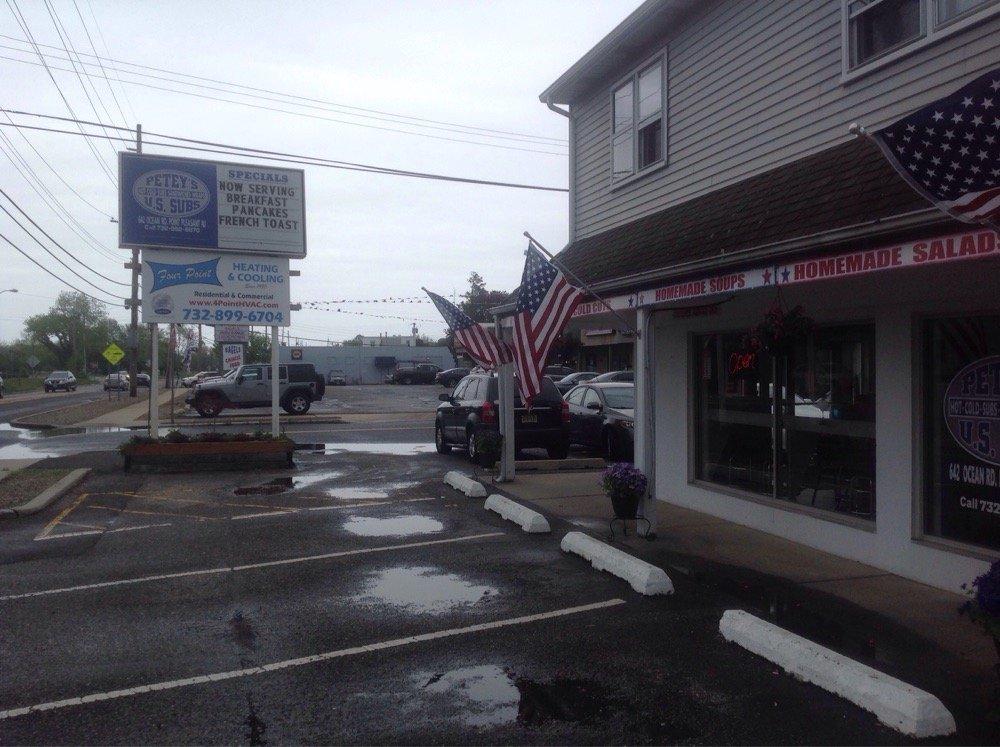 U S Subs & Wraps: 642 Route 88, Point Pleasant Beach, NJ