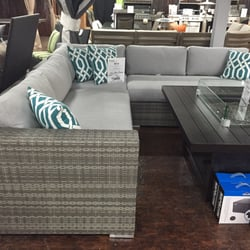Superieur Photo Of InsideOut Patio Furniture   Toronto, ON, Canada. This Sectional /  Fireplace