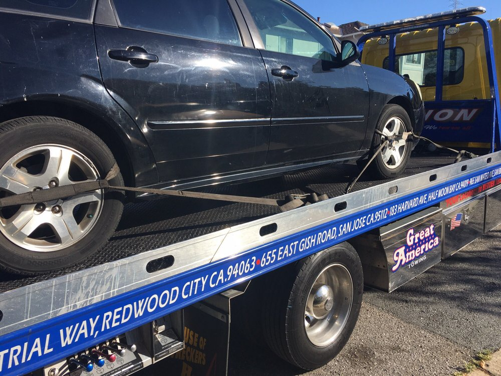 Towing business in San Mateo, CA
