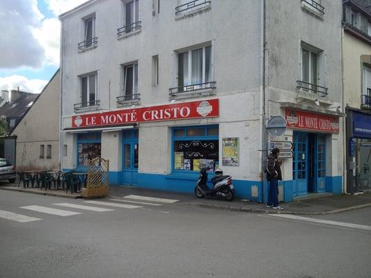 Le Monte Cristo - Restaurants - 23 place Mar Joffre, Auray, Morbihan ...