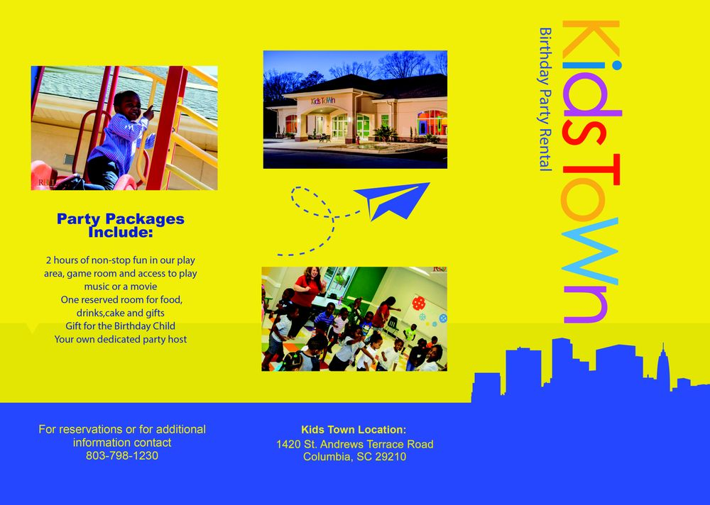 Kid's Town: 1234 St Andrews Rd, Columbia, SC