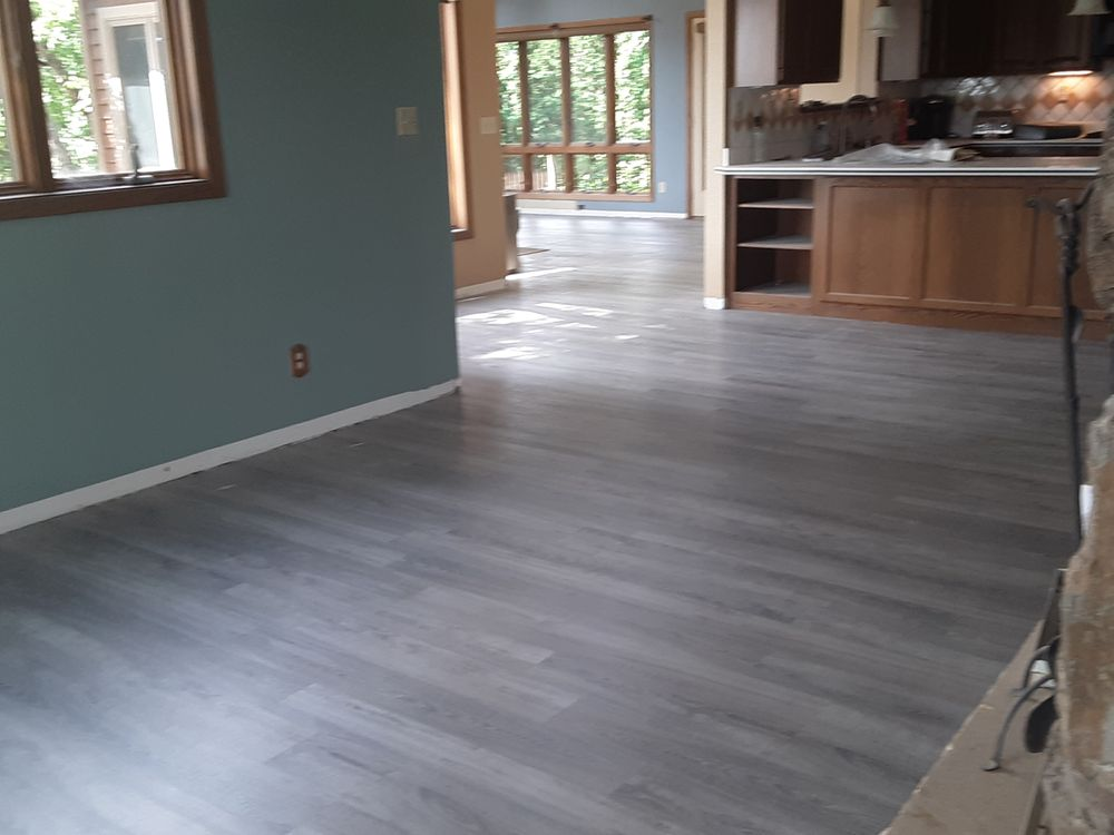 M F Hardwood Floors: W8660 174th Ave, Hager City, WI