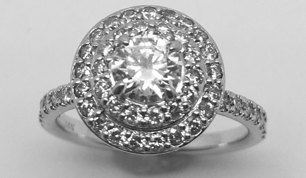 levy jewelry for sale 14k white gold engagement ring with 1 25 3980