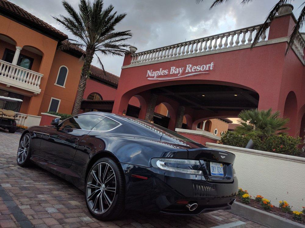 Limited Edition V Aston Martin DB At Naples Bay Resort Naples - Aston martin naples
