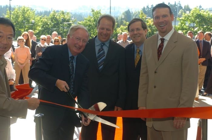 Grand Opening Ribbon Cutting Celebration With Owners Bruce