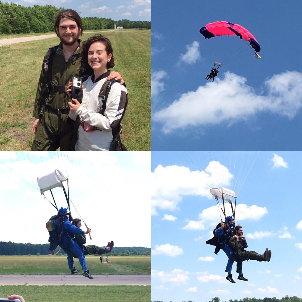 No Limits Skydiving West Point: 1001 Airport Rd, Shacklefords, VA