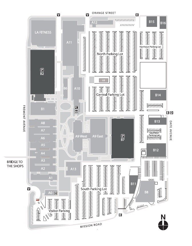 A Map Of The Campus Because The Directions They Email You Are