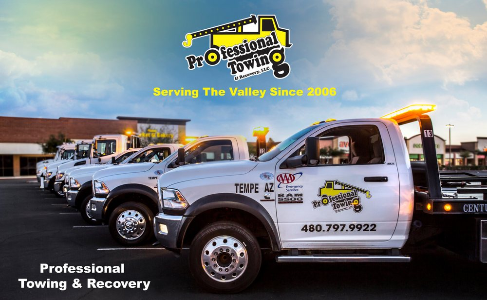 Towing business in Tempe, AZ