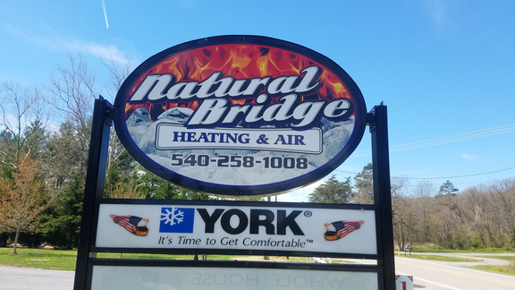 Natural Bridge Heating & Air Conditioning: 1790 Wert Faulkner Hwy, Glasgow, VA