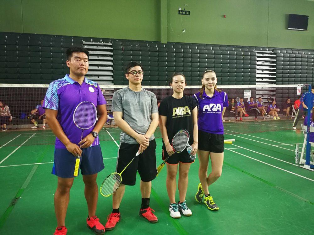 Los Angeles Badminton Club: 10410 Valley Blvd, El Monte, CA