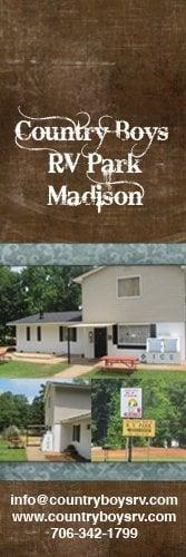 Country Boy Rv Park: 2750 Eatonton Rd, Madison, GA