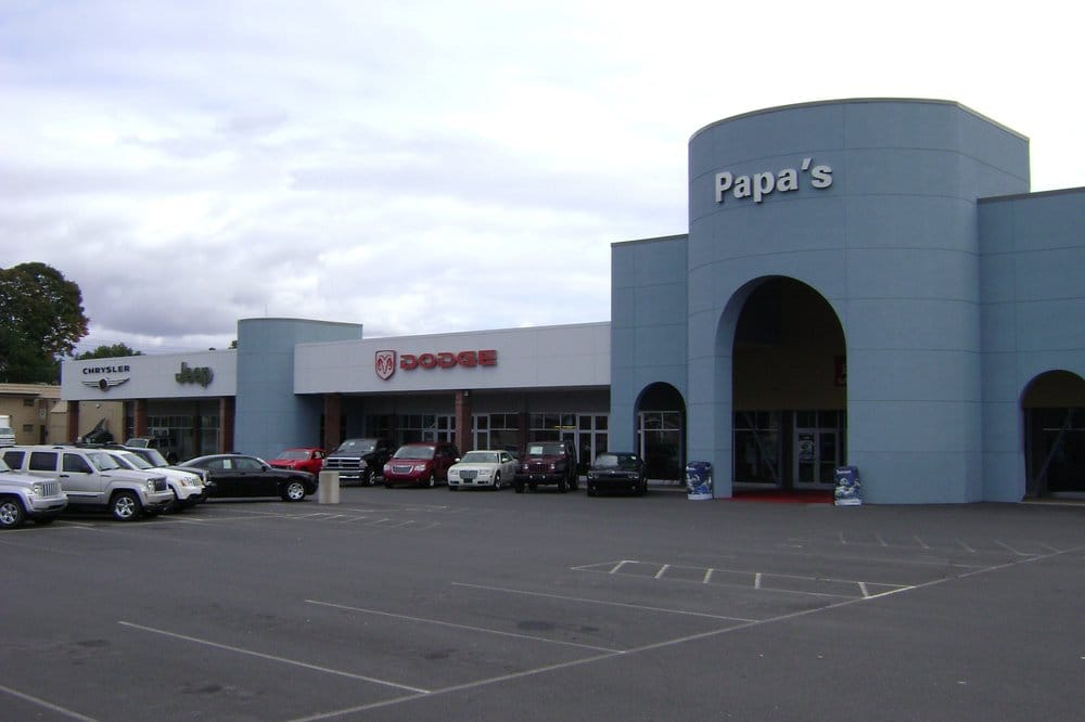 Jeep Dealers Near Me >> Papa's Dodge Chrysler Jeep RAM - 10 Reviews - Car Dealers - 585 E Main St - New Britain, CT ...
