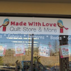 Made With Love Quilt Store And More Closed Fabric Stores 6324